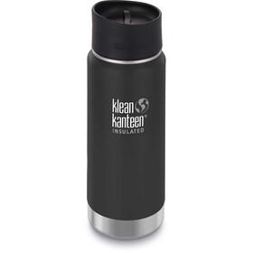 Klean Kanteen Wide Vacuum Insulated Bottle Café Cap 2.0 473ml Shale Black Matt
